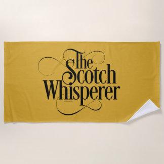 Scotch Whisperer Beach Towel