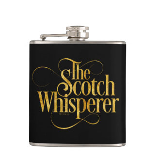 Scotch Whisperer Flasks