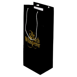 Scotch Whisperer Wine Gift Bag