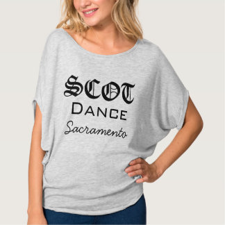 SCOTdance Sacramento WOMENS flowy shirt