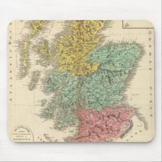 Scotland 18 mouse pad
