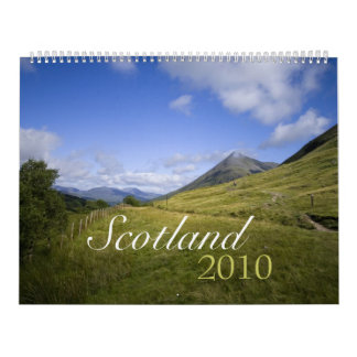 Scotland 2010 Calendar