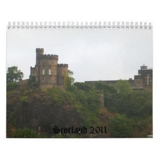 Scotland 2011 wall calendar