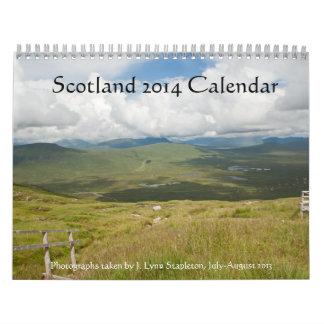 Scotland 2014 Calendar