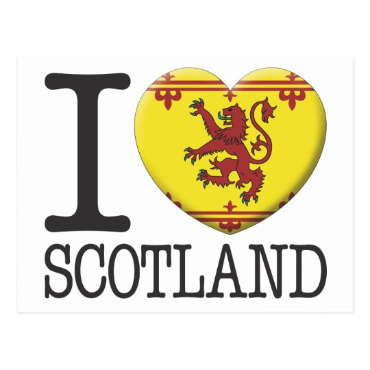 Scotland 2 postcard