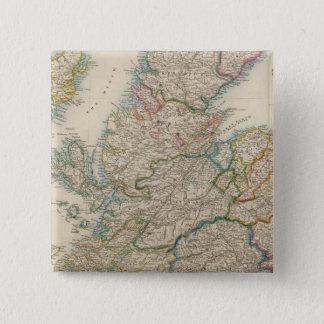 Scotland 3 2 inch square button