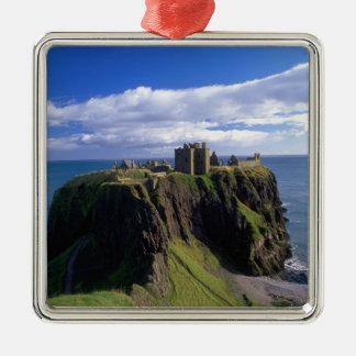 Scotland, Aberdeen. Dunnotar Castle. Metal Ornament