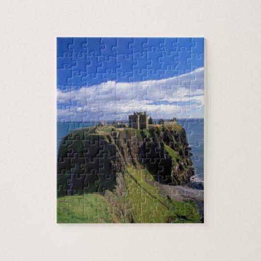 Scotland, Aberdeen. Dunnotar Castle. Jigsaw Puzzles