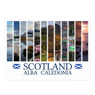 Scotland - Alba - Caledonia Postcard