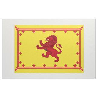 Scotland ancient Rampant Lion flag bright yellow Fabric