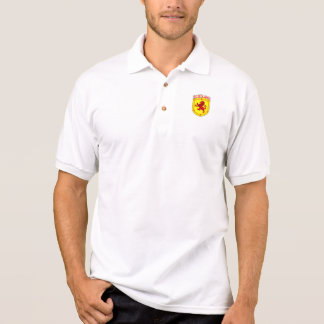 Scotland ancient red Rampant Lion Polo Shirt