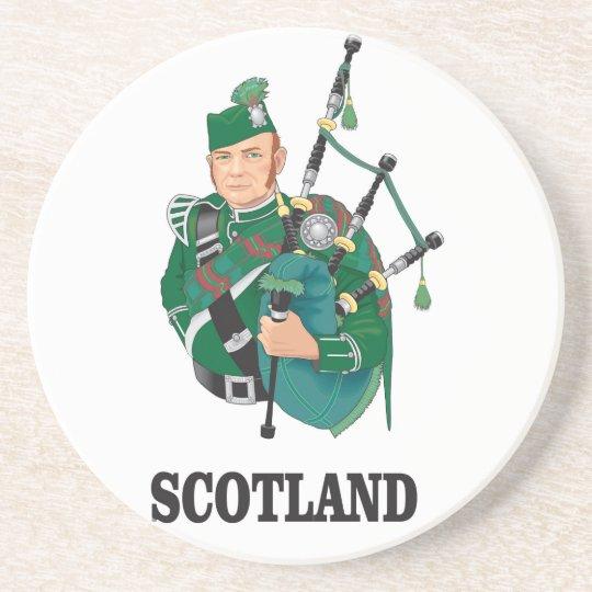 Scotland art coaster