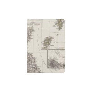 Scotland Atlas Map 2 Passport Holder