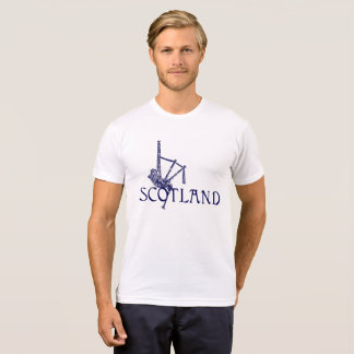 Scotland Bagpipes, Scottish Design T-Shirt