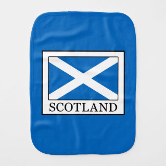 Scotland Burp Cloth
