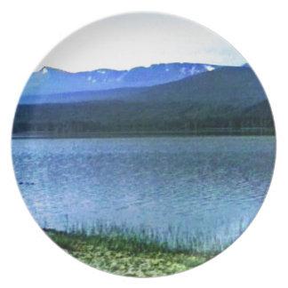 Scotland Cairngorm Mountains Art -36909a1 jGibney Dinner Plates