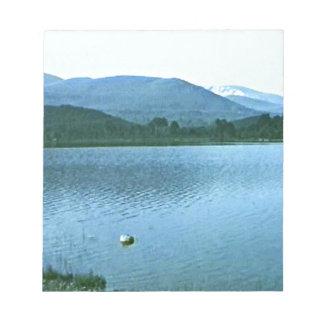 Scotland Cairngorm Mountains Art snap36688 jGibney Notepad