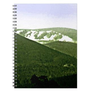 Scotland Cairngorm Mountains snap-36466a3 jGibney Spiral Notebooks