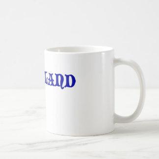 Scotland coils coffee mug