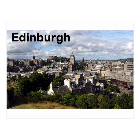 Scotland Edinburgh view (St.K) Postcard