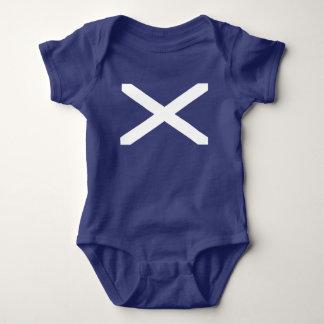 Scotland flag baby bodysuit
