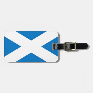 Scotland Flag Bag Tag