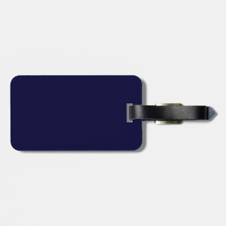 Scotland flag blue luggage tag