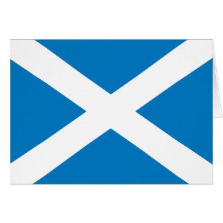 Scotland Flag Card