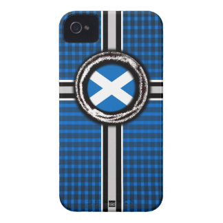 Scotland Flag Emboss iPhone 4 Case-Mate Case