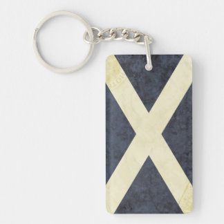Scotland Flag Key Chain Souvenir