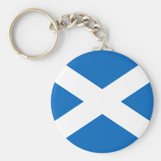Scotland Flag Keychain