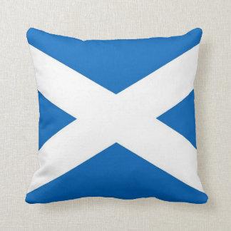 Scotland Flag on American MoJo Pillow
