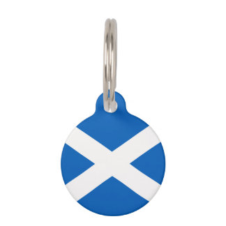 Scotland Flag Pet Tag