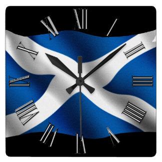 SCOTLAND Flag Proud Scots Patriotic Wall Clock