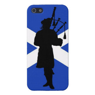Scotland flag Scottish bag pipper pipes Cover For iPhone 5/5S