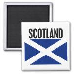 Scotland Flag Square Magnet