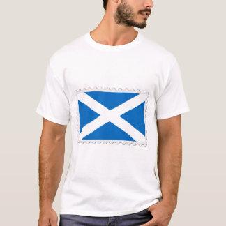Scotland flag stamp T-Shirt