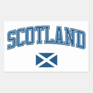 Scotland + Flag Sticker
