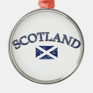 Scotland football design metal ornament