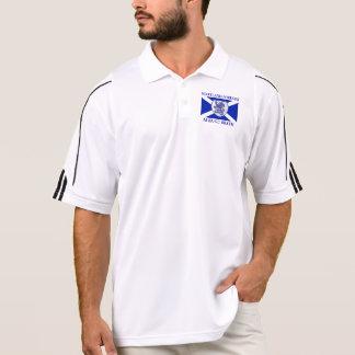 Scotland Forever Alba Gu Brath Rampant Lion Flag Polo Shirt