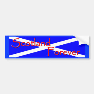 Scotland Forever Bumper Sticker