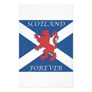 scotland_forever_lion_rampant_ customized stationery