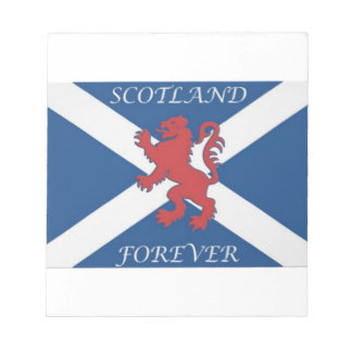 scotland_forever_lion_rampant_ notepad