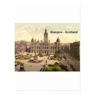 Scotland Glasgow George Square (St.K.) Postcard