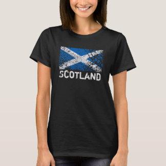 Scotland + Grunge Scottish Flag T-Shirt