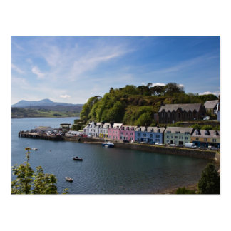 Scotland - Harbour of Portree postcard