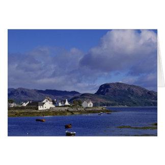 Scotland, Highland, Wester Ross, Plockton. Card