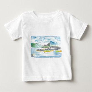 Scotland Highlands Fantasy and Eilean Donan Castle Baby T-Shirt