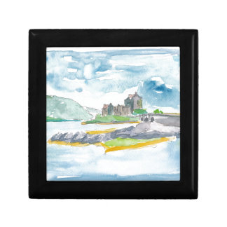 Scotland Highlands Fantasy and Eilean Donan Castle Gift Box