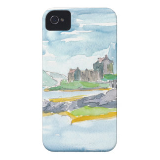 Scotland Highlands Fantasy and Eilean Donan Castle iPhone 4 Covers